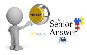 Senior Answer apostle Help button